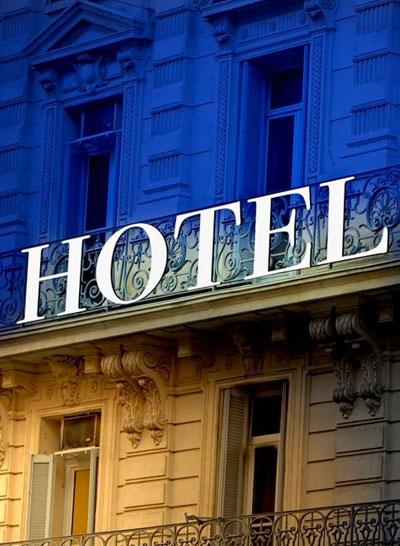 Les différents hôtels de Paris